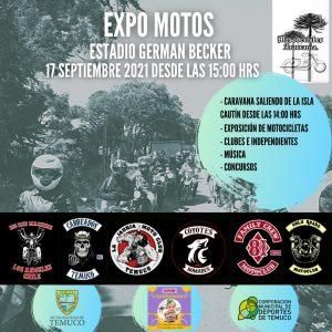"""El deporte tuerca llega a Temuco con la """"Expo Motos 2021"""""""